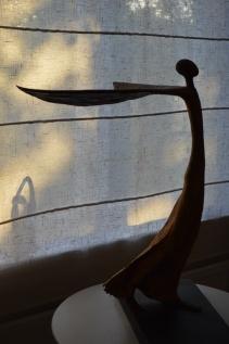 Bevingad skulptur